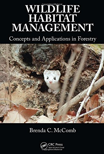 9780849374890: Wildlife Habitat Management: Concepts and Applications in Forestry