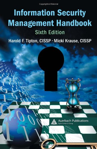 9780849374951: Information Security Management Handbook, Sixth Edition ((Isc)2 Press)