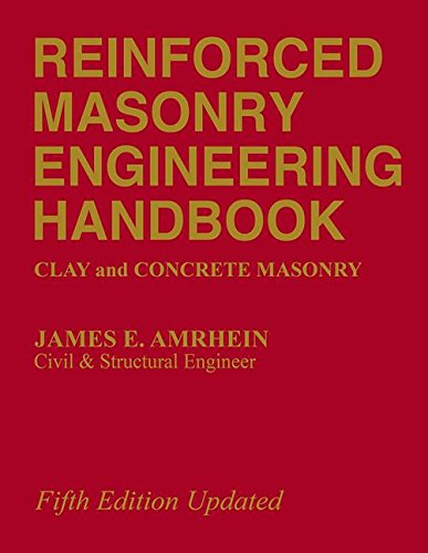 9780849375514: Reinforced Masonry Engineering Handbook: Clay and Concrete Masonry, Fifth Edition