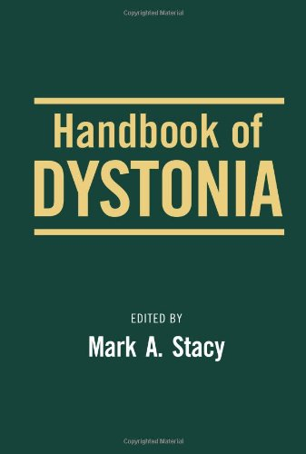 9780849376122: Handbook of Dystonia (Neurological Disease and Therapy)