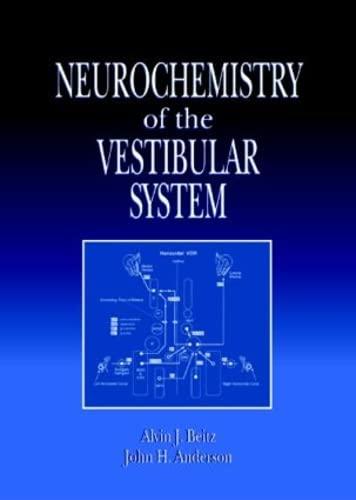9780849376795: Neurochemistry of the Vestibular System