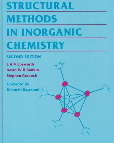 9780849377327: Structural Methods in Inorganic Chemistry, Second Edition