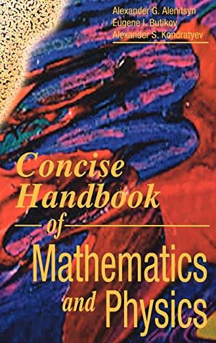 9780849377457: Concise Handbook of Mathematics and Physics