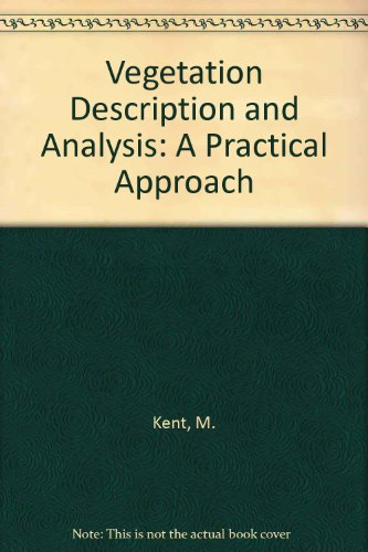 9780849377563: Vegetation Description & Analysis A Pracl Approach: A Practical Approach