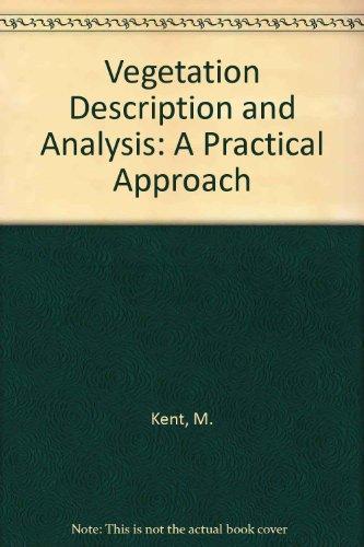9780849377563: Vegetation Description & Analysis A Pracl Approach: A Practical Approach