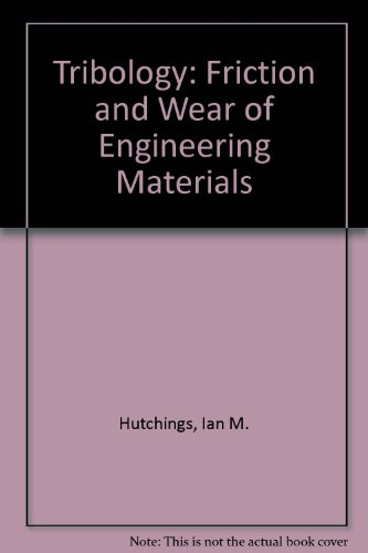 9780849377648: Tribology: Friction and Wear of Engineering Materials