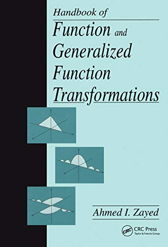 9780849378515: Handbook of Function and Generalized Function Transformations (Mathematical Science References)