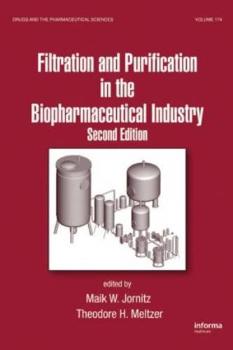 Filtration And Purification In The Biopharmaceutical Industry,: Adeyeye,Baertschi S.W.,Bamforth C.W.,Cato