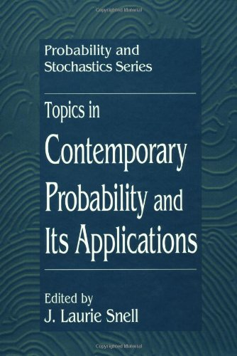 9780849380730: Topics in Contemporary Probability and Its Applications (Probability and Stochastics Series)