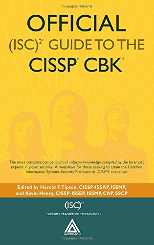 9780849382314: Official (ISC)2 Guide to the CISSP CBK ((ISC)2 Press)