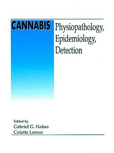 9780849383106: Cannabis Physiopathology Epidemiology Detection