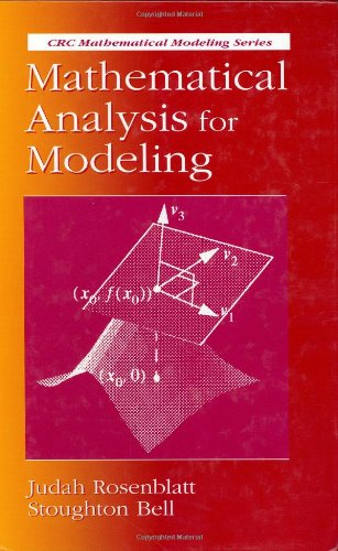 9780849383373: Mathematical Analysis for Modeling (Mathematical Modeling)