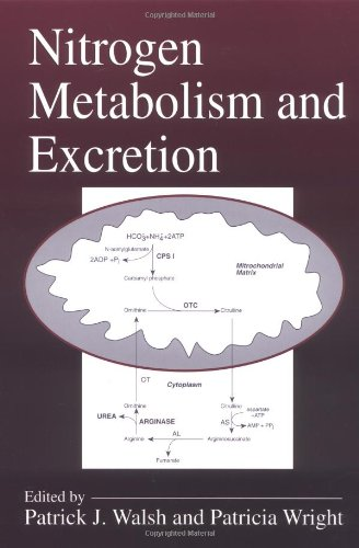 Nitrogen Metabolism and Excretion (Hardback): Patrick J. Walsh, Patricia A. Wright