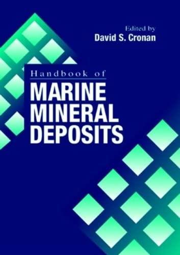 9780849384295: Handbook of Marine Mineral Deposits (CRC Marine Science)