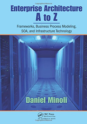 9780849385179: Enterprise Architecture A to Z: Frameworks, Business Process Modeling, SOA, and Infrastructure Technology