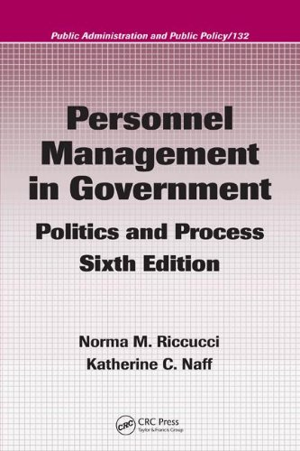 9780849385193: Personnel Management in Government: Politics and Process, Sixth Edition (Public Administration and Public Policy)