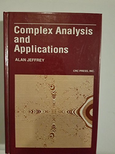 9780849386039: Complex Analysis and Applications, Second Edition (Mathematical Science References)