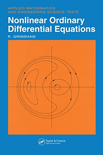9780849386077: Nonlinear Ordinary Differential Equations (Applied Mathematics and Engineering Science Texts) (v. 2)