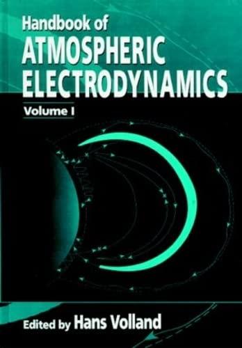 9780849386473: 1: Handbook of Atmospheric Electrodynamics, Volume I