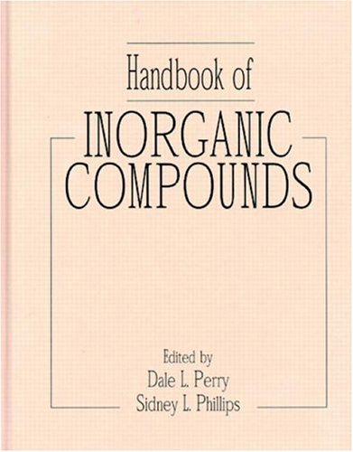 9780849386718: Handbook of Inorganic Compounds: An Electronic Database: Version 2.0