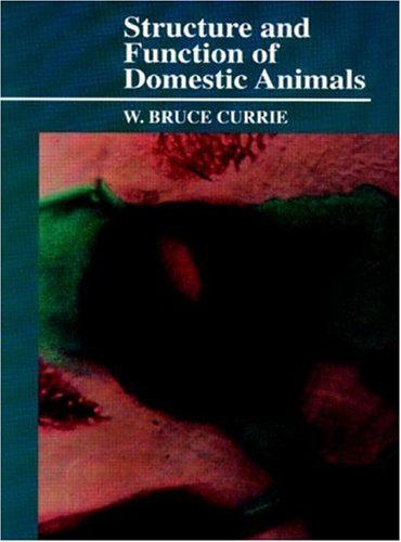 9780849387661: Structure and Function of Domestic Animals