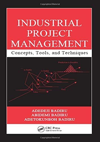 Industrial Project Management: Concepts, Tools, and Techniques (Industrial Innovation Series): ...