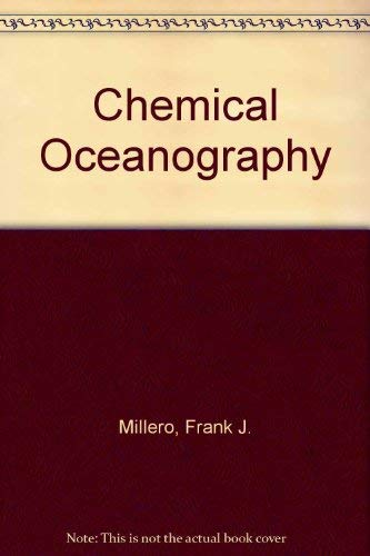 9780849388408: Chemical Oceanography