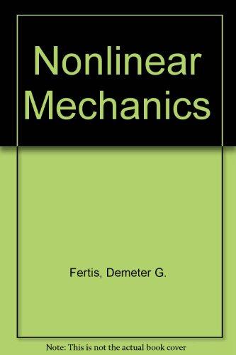 9780849389337: Nonlinear Mechanics