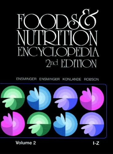 9780849389825: Foods & Nutrition Encyclopedia, Volume 2: I to Z. Second Edition