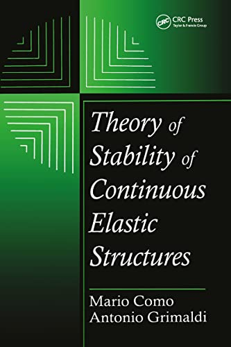 9780849389900: Theory of Stability of Continuous Elastic Structures (Engineering Mathematics)