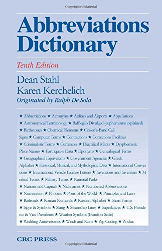 9780849390036: Abbreviations Dictionary, Tenth Edition