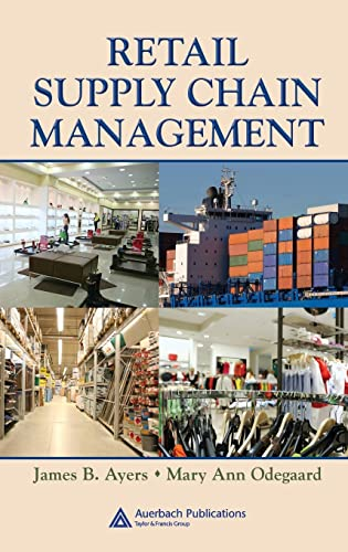 9780849390524: Retail Supply Chain Management (Series on Resource Management)