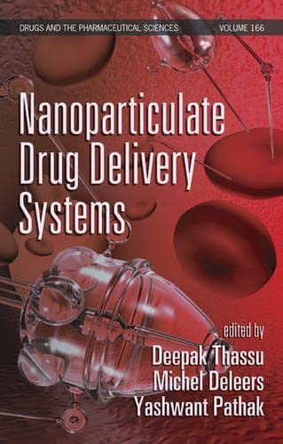 9780849390739: Nanoparticulate Drug Delivery Systems (Drugs and the Pharmaceutical Sciences)