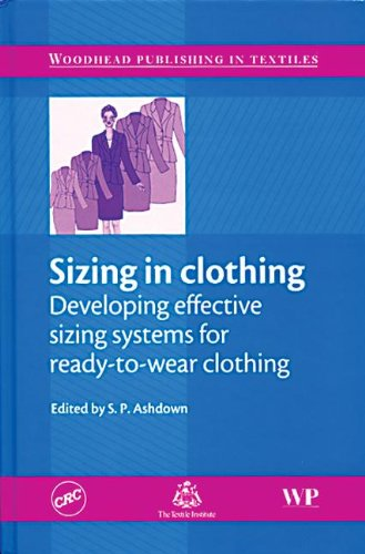 9780849390982: Sizing in Clothing: Developing Effective Sizing Systems for Ready-To-wear Clothing (Woodhead Publishing Series in Textiles)