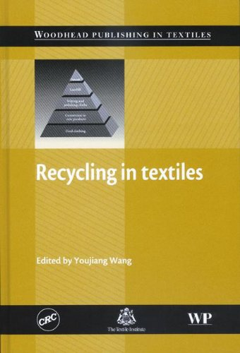 9780849391040: Recycling in Textiles (Woodhead Publishing Series in Textiles)