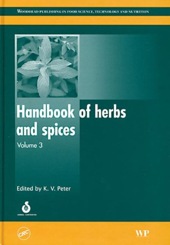 9780849391552: Handbook of herbs and spices, Volume 3