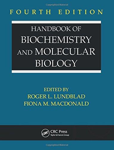 9780849391682: Handbook of Biochemistry and Molecular Biology, Fourth Edition