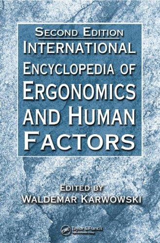 9780849392443: International Encyclopedia of Ergonomics and Human Factors, Second Edition - CD-ROM (Volume 2)