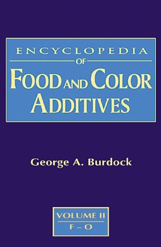 9780849394133: Encyclopedia of Food & Color Additives: Encyclopedia of Food and Color Additives ( 3 vol. set)