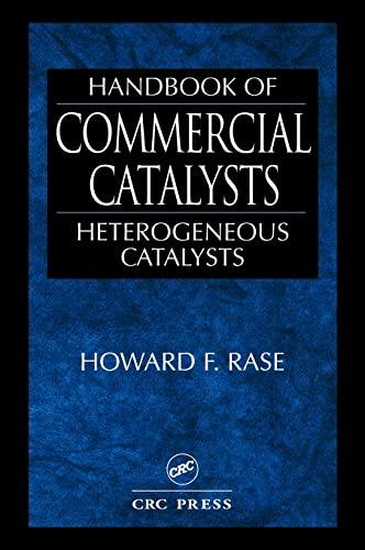 9780849394171: Handbook of Commercial Catalysts: Heterogeneous Catalysts