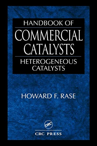 9780849394171: Handbook of Commercial Catalysts: Heterogeneous Catalysts