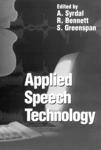 9780849394560: Applied Speech Technology