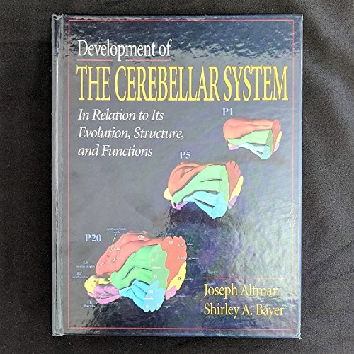9780849394904: Development of the Cerebellar System: In Relation to Its Evolution, Structure, and Functions