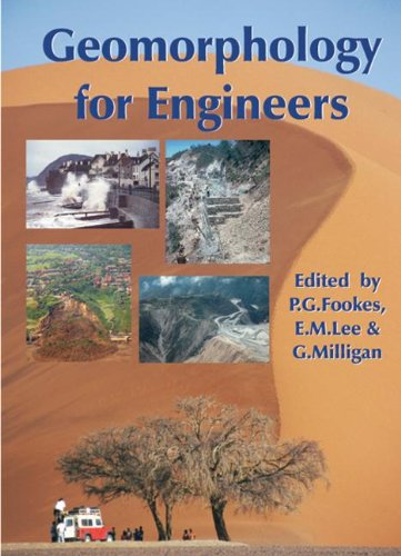 Geomorphology for Engineers (Hardcover): P.G. Fookes