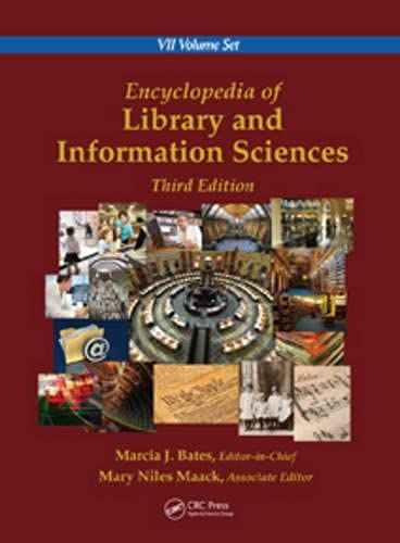 9780849397127: Encyclopedia of Library and Information Sciences, Third Edition (Print Version)