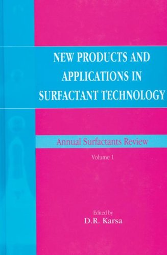 9780849397387: New Products and Applications in Surfactant Technology (Sheffield Annual Surfactants Review)