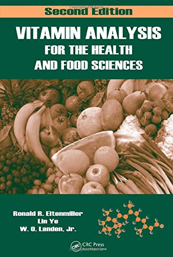 9780849397714: Vitamin Analysis for the Health and Food Sciences (Food Science and Technology)