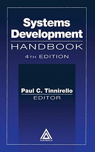 9780849398223: Systems Development Handbook, Fourth Edition