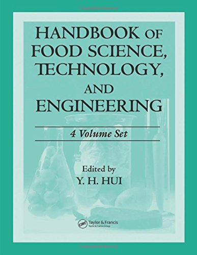 9780849398476: Handbook of Food Science, Technology, and Engineering - 4 Volume Set (Food Science and Technology)