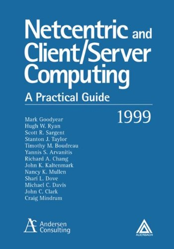 9780849399671: NetCentric and Client/Server Computing: A Practical Guide